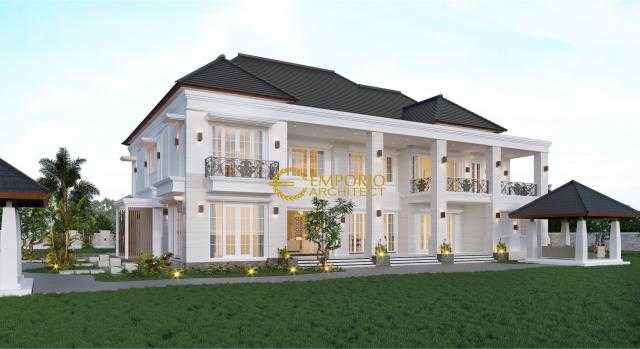 Mrs. A Classic House 2 Floors Project 849 Design - Banjarmasin, Kalimantan Selatan