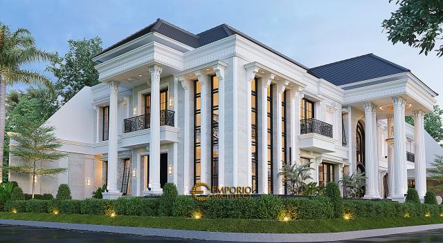 Mrs. Iin Classic House 2 Floors Design - Kendari, Sulawesi Tenggara