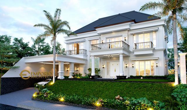 Mrs. Karina Classic House 2 Floors Design - Jambi