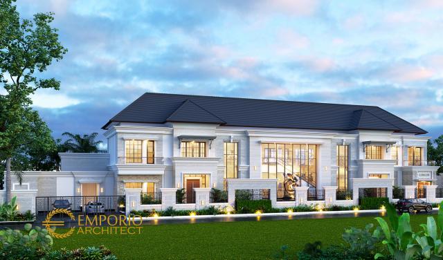 Mr. Diabate Classic House 2 Floors Design - Senegal