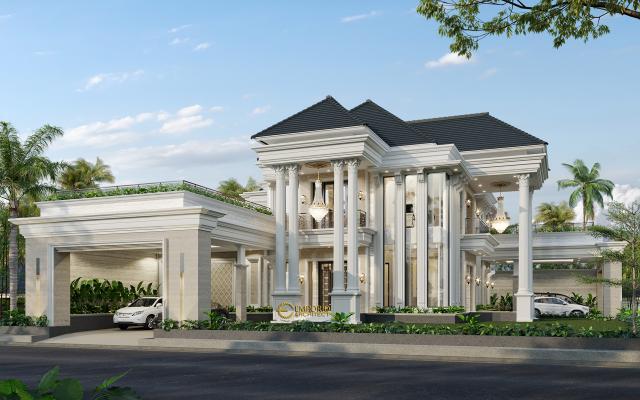 Mrs. Sari Classic House 2 Floors Design - Aceh