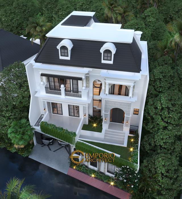 Desain Rumah Classic 2.5 Lantai Ibu Gina di  Bandung, Jawa Barat