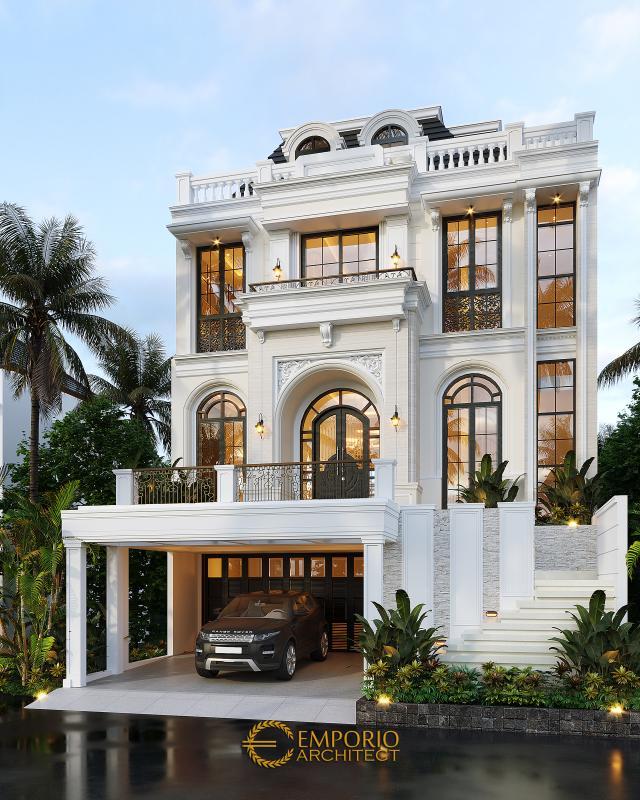 Mr. Ramses Classic Modern House 3.5 Floors Design - Tangerang Selatan, Banten