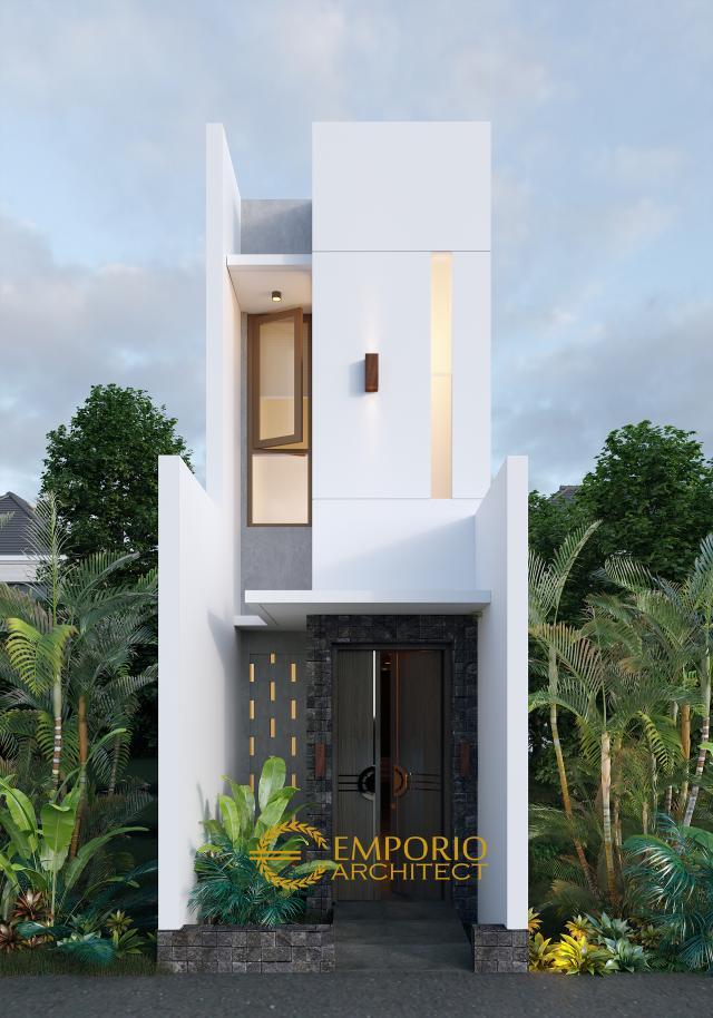Desain Kost Modern 2 Lantai Ibu Wenny di Jakarta