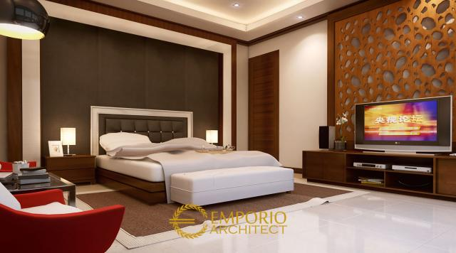 Desain Kamar Tidur Rumah Bapak Frans di Jakarta