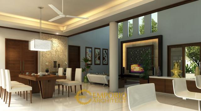 Desain Ruang Makan Rumah Bapak Frans di Jakarta