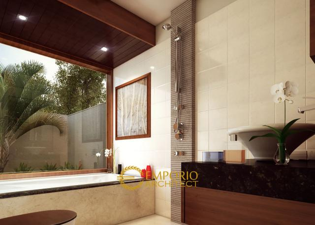 Desain Kamar Mandi Rumah Bapak Frans di Jakarta