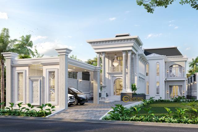 Mr. Faozian Classic House 2 Floors Design - Bandung, Jawa Barat