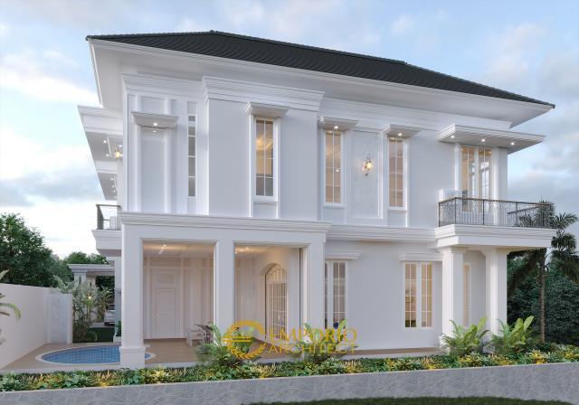 Desain Rumah Mediteran 2 Lantai Bapak Datuk Sabri di  Malaysia