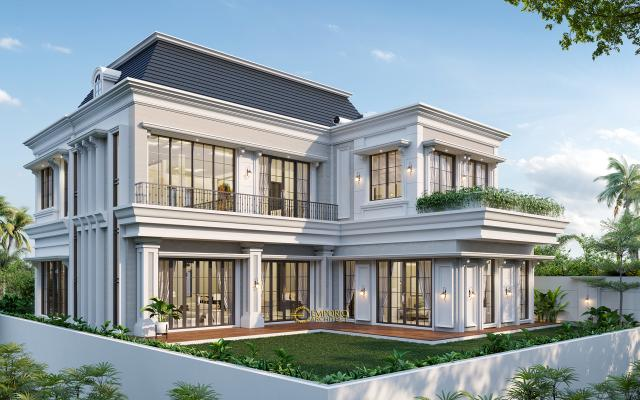 Mr. Amir Prayoga Mediteran House 2.5 Floors Design - Malang, Jawa Timur