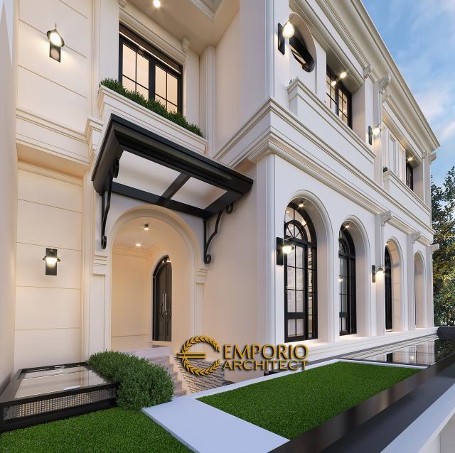 Mr. Gilang Dirga and Mrs. Adiezty Fersa Mediterranean House 3 Floors Design - Bekasi, Jawa Barat