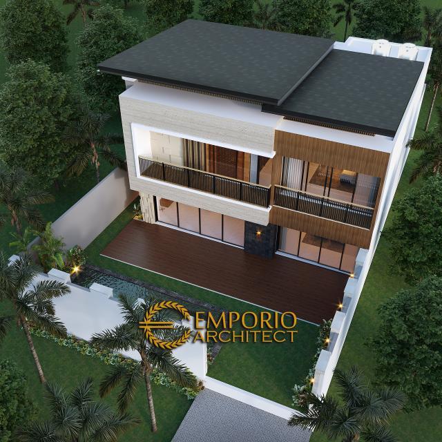 Desain Master Plan Rumah Modern 2 Lantai Bapak Ali di Denpasar, Bali