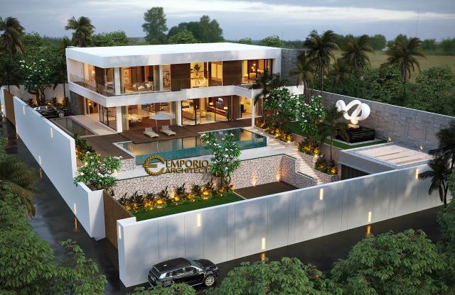 Mr. Rahimi Modern House 2 Floors Design - Manado, Sulawesi Utara