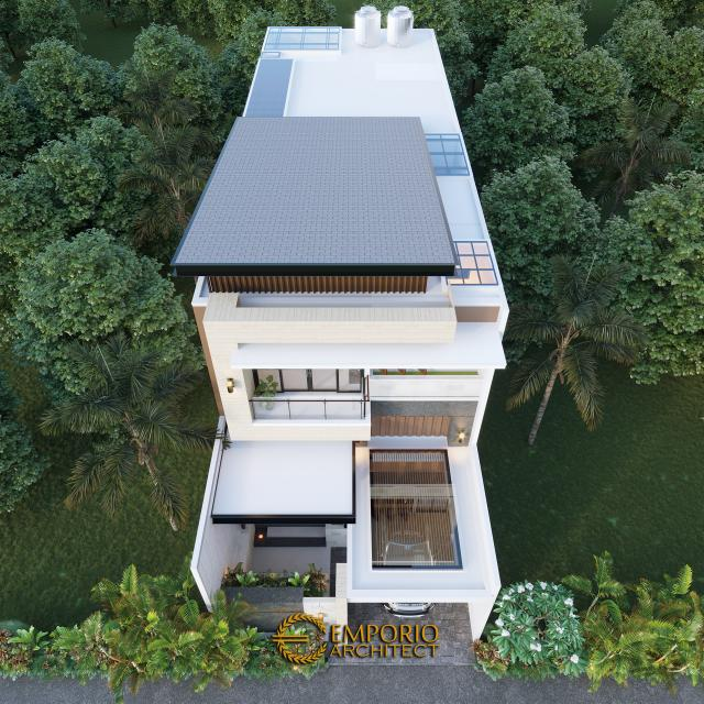 Desain Masterplan Rumah Modern 2 Lantai Bapak RM di Bogor, Jawa Barat