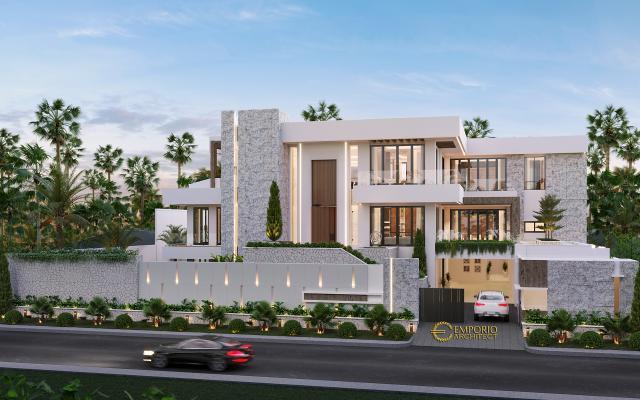 Desain Rumah Modern 2.5 Lantai Bapak Pieter di  Makassar, Sulawesi Selatan