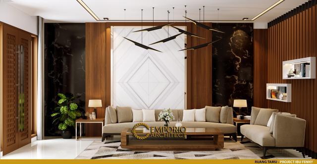 Mrs. Fenny Modern House 2.5 Floors Design - Manado