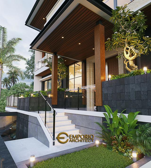 Mr. Atang Modern House 2.5 Floors Design - Bandung, Jawa Barat