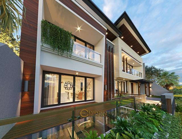 Mrs. Tutus Modern House 2.5 Floors Design - Malang, Jawa Timur
