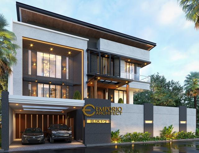 Mr. Ben Modern House 3 Floors Design - Jakarta