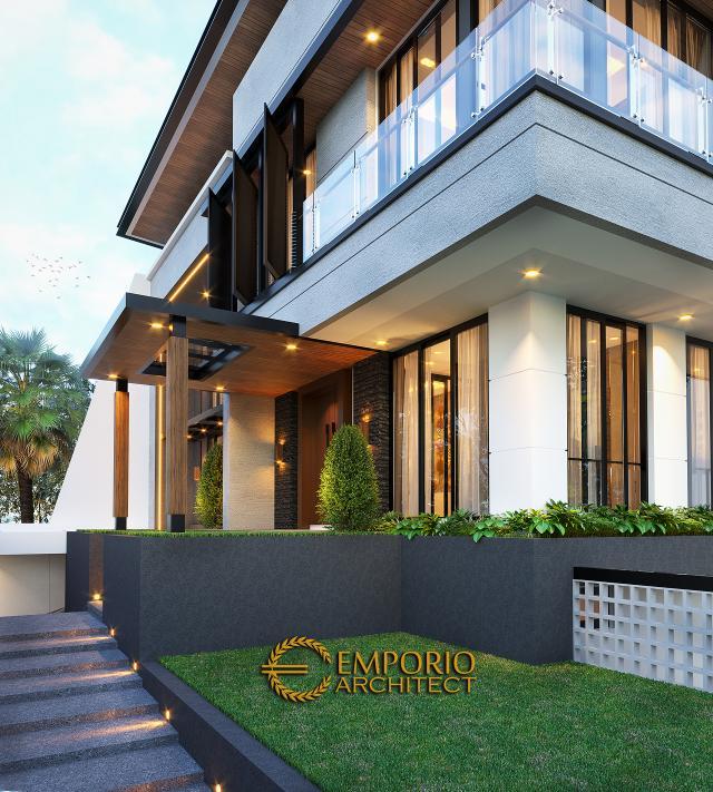 Mr. Ben Modern House 3 Floors Design - Jakarta