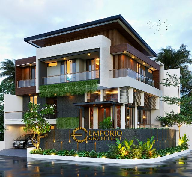 Mr. Windu Modern House 3 Floors Design - Bintaro, Jakarta Selatan
