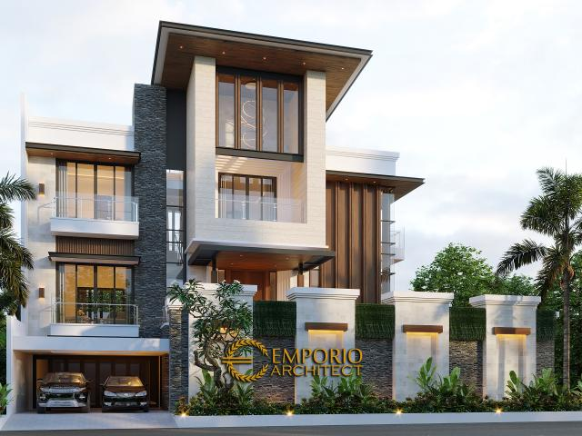 Mr. Irawan Modern House 3 Floors Design - Jakarta