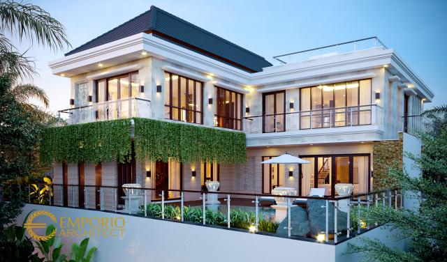 Mr. Fazlur Villa Bali House 3 Floors Design - Bangladesh