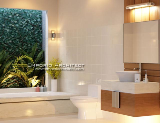 Desain Interior 1 Villa Style Villa Bali 1 Lantai Ibu Maryam di Bali