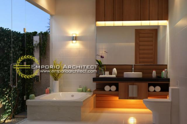 Desain Interior 2 Villa Style Villa Bali 1 Lantai Ibu Maryam di Bali