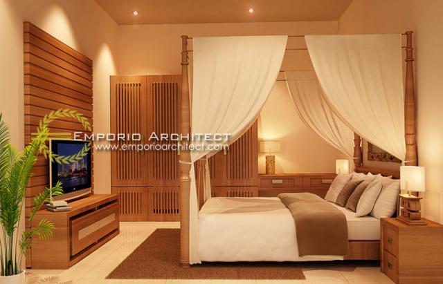 Desain Interior 4 Villa Style Villa Bali 1 Lantai Ibu Maryam di Bali