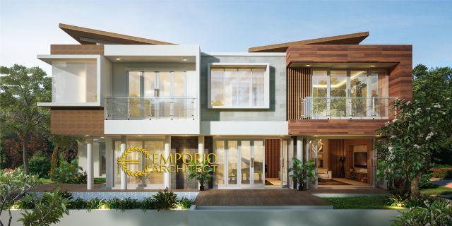 Mrs. Irene Modern House 2 Floors Design - Badung, Bali