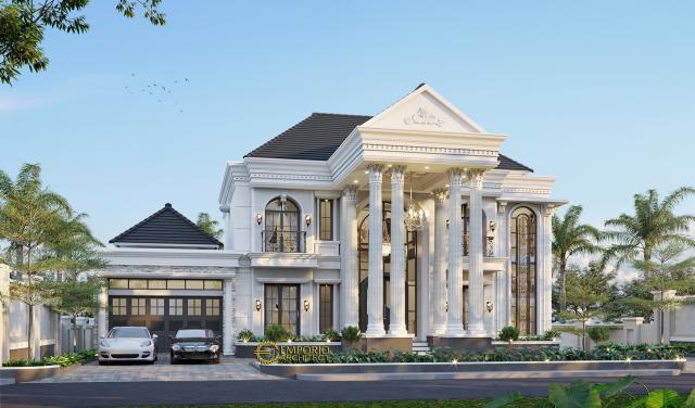 Mr. Alex Classic House 2 Floors Design - Bengkulu