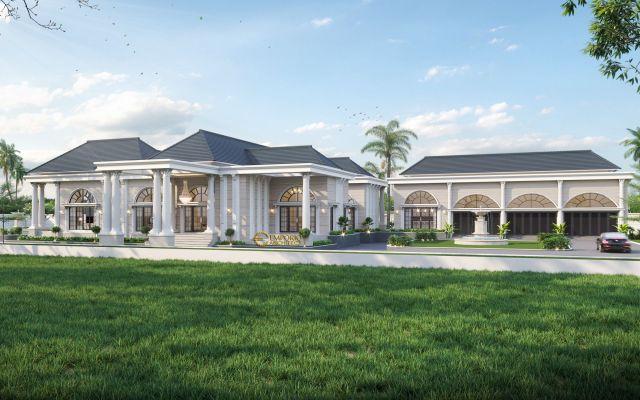 Desain Rumah Classic 1 Lantai Bapak Human di  Bondowoso, Jawa Timur