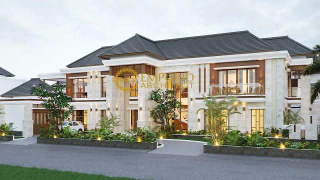 Desain Rumah Villa Bali 2 Lantai Mr. Dawood di  Brunei Darussalam