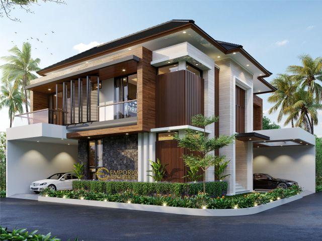 Mr. Khoiri Modern House 2.5 Floors Design - Cibubur, Bekasi