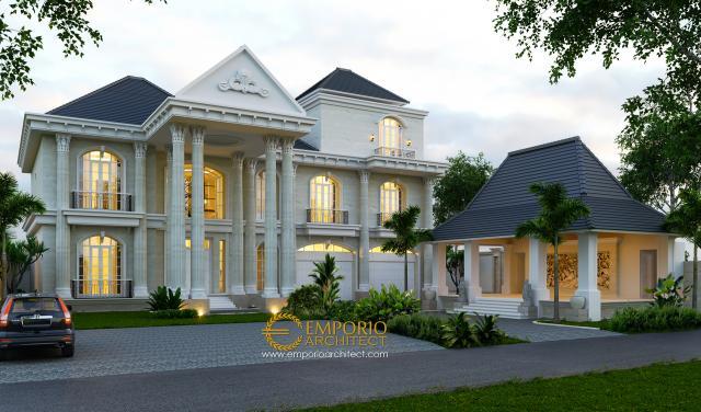 Mrs. Ayu Classic House 3 Floors Design - Denpasar, Bali