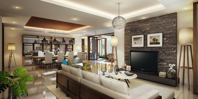 Desain Rumah Modern 2 Lantai Bapak Ahdianto di  Jakarta