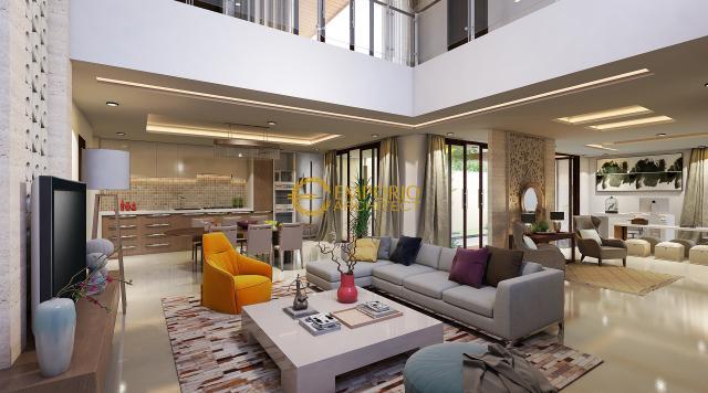 Desain Rumah Modern 2 Lantai Bapak Anthon di  Jakarta
