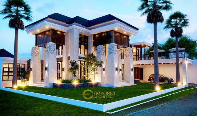 Mr. Herry Villa Bali House 2 Floors Design - Bogor, Jawa Barat