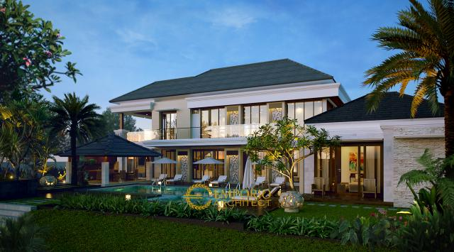 Mr. Husni Villa Bali House 2 Floors Desgin - Belitung