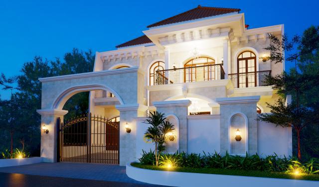 Mr. Pramudya Mediteran House 2 Floors Lot 9 Design - Sentul, Bogor