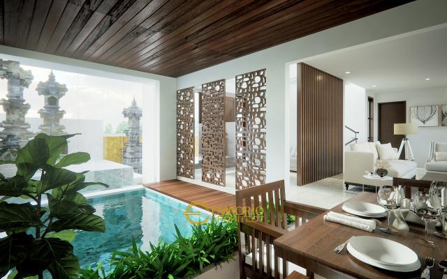Desain Rumah Villa Bali 3 Lantai Bapak Rumbawa II di  Denpasar, Bali