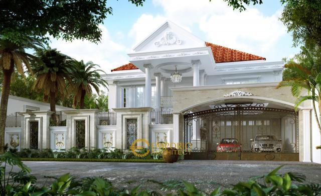 Mr. Tono Classic House 2 Floors Design - Serang, Banten