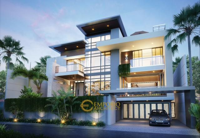 Mr. Willy Modern House4 Floors Design - Dago Pakar, Bandung