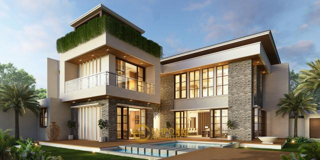 Mr. Yusuf Modern House 2 Floors Design - Lombok