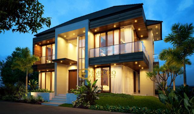 Mrs. Tasya Modern House 2 Floors Design - Jakarta