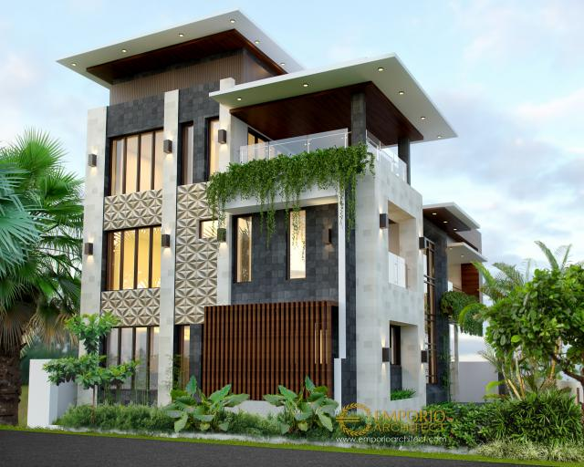 dr. Kailash Prabudev Modern House 3 Floors Design - Bangalore, India