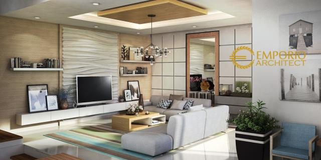 Desain Rumah Modern 2 Lantai Bapak Aat di  Indramayu, Jawa Barat