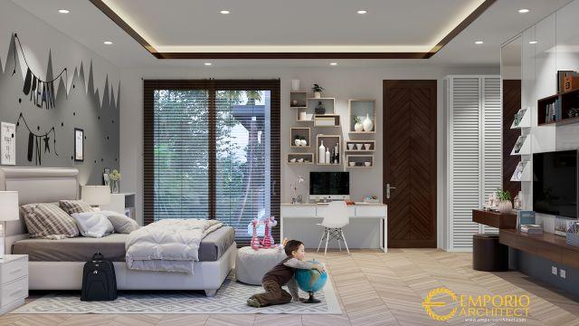 Desain Rumah Modern 2 Lantai Bapak Hayadi di  Jakarta Barat
