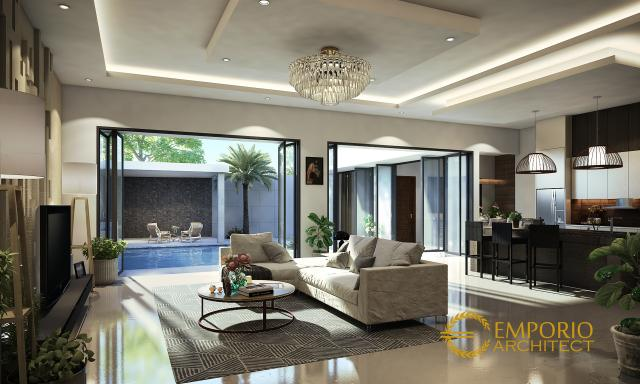 Mr. Willy Modern House 2 Floors Design - Jakarta Barat
